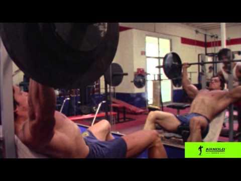 Arnold Schwarzenegger Barbell Incline Form Video