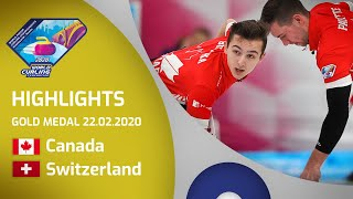 HIGHLIGHTS: Canada v Switzerland - Men's gold meda...