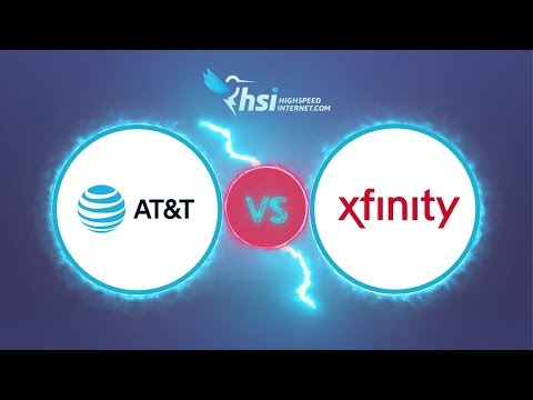 AT&T vs Xfinity (Internet comparison)