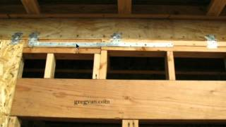 Top Wall Plate Strap Location Can Be Critical - Framing And Home Building