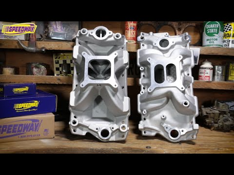Speedway Tech Talk - Tips for Selecting an Intake Manifold
