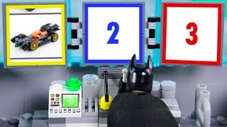 LEGO Batman Experimental Batmobile, Construction Drill STOP MOTION LEGO Cars & Trucks | Billy Bricks