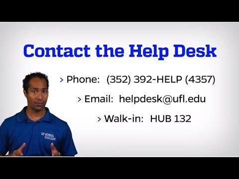 2018 UF Computing Help Desk Video