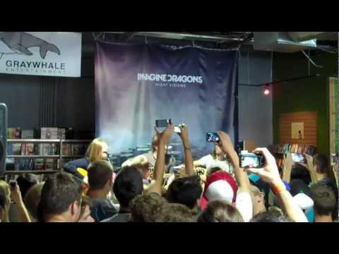 Imagine Dragons mini concert in Salt Lake City