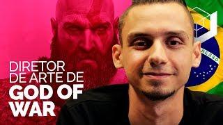 God of War: Entrevista com Rafael Grassetti, o brasileiro que é diretor de arte do jogo
