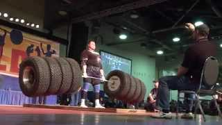 World Record Deadlift 1117 pounds!!!!!! Worlds Strongest Man.