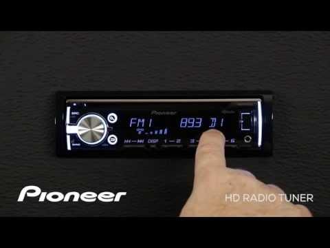 How To - DEH-X5700HD - HD Radio Tuner