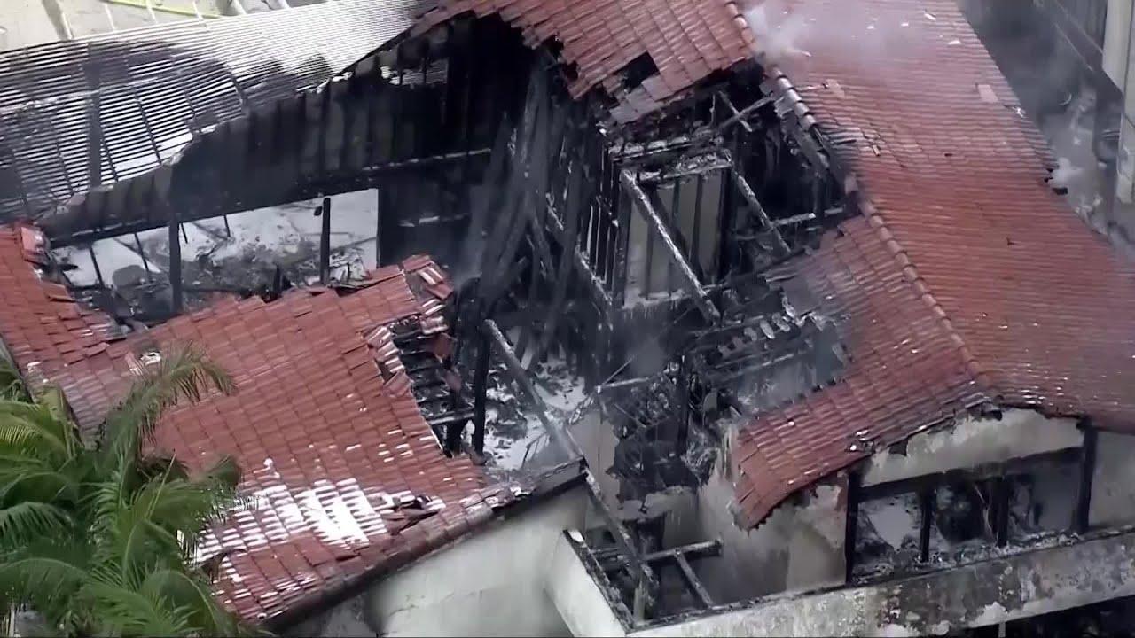 Plane crash in Yorba Linda, CA