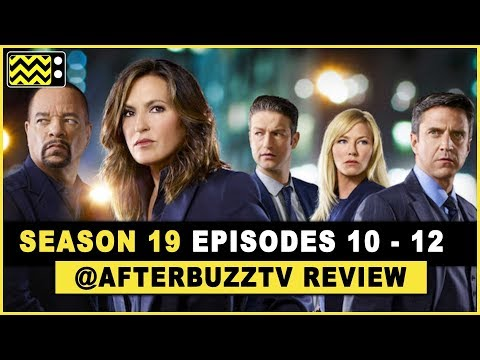 Download Law and Order: SVU Season 19 Episodes 10-12 Review & After Show