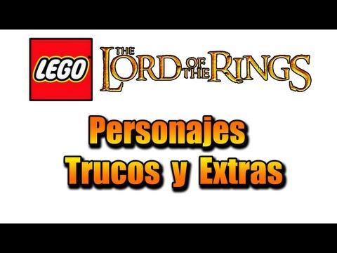 LEGO El Señor de los Anillos - Personajes Trucos y Extras - HD 720p