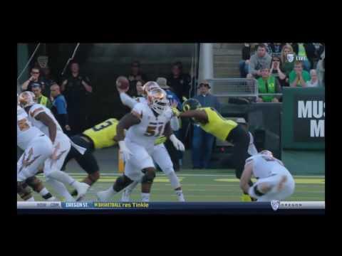 Oregon Ducks vs. Arizona State Sun Devils- Ducks Highlights 10/29/16