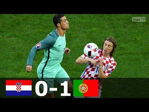 🔥 Португалия - Хорватия 1-0 - Обзор Матча 1/8 Финала Чемпионата Европы 25/06/2016 HD 🔥