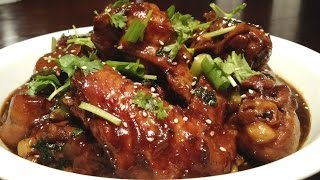 Soy Sauce Chicken with BBQ Sauce