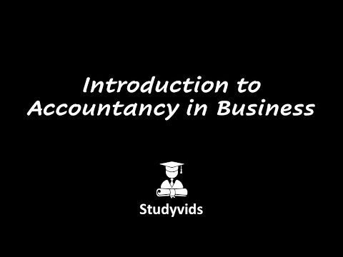 N0502C  Introduction to accountancy in a business
