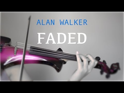 Alan Walker - Faded for violin and piano (COVER)