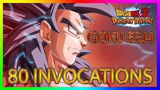 Dokkan Battle | 80 INVOCATIONS GOKU SSJ4
