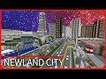 Minecraft PE Maps - GIGANTIC CITY TOUR: Republic of Newland - MCPE 1.1 / 1.2