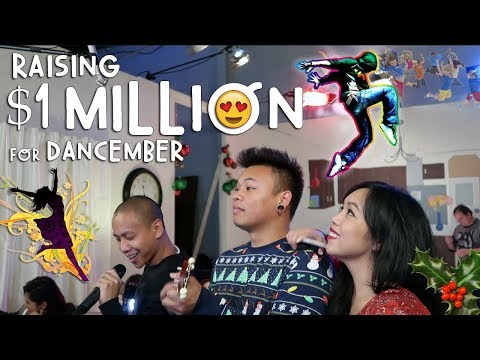 Raising $1 Million to Feed Hungry Kids #Dancember | Vlog #274