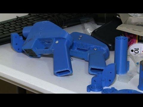fabriquer son pistolet avec une imprimante 3d youtube. Black Bedroom Furniture Sets. Home Design Ideas