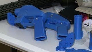 Fabriquer son pistolet... avec une imprimante 3D