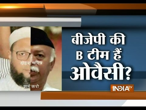AIMIM Chief Asaduddin Owaisi Replies to Digvijay's 'B-team of BJP' Remark - India TV