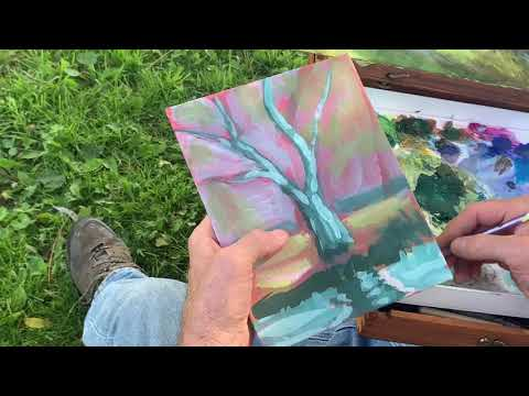 Plein Air Painting with Tom Woodruff