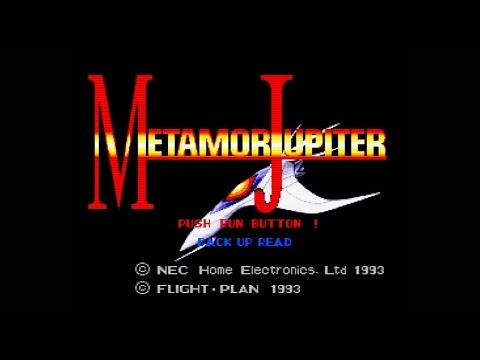 Metamor Jupiter (PC Engine Super CD-ROM) Longplay - HD + scanlines