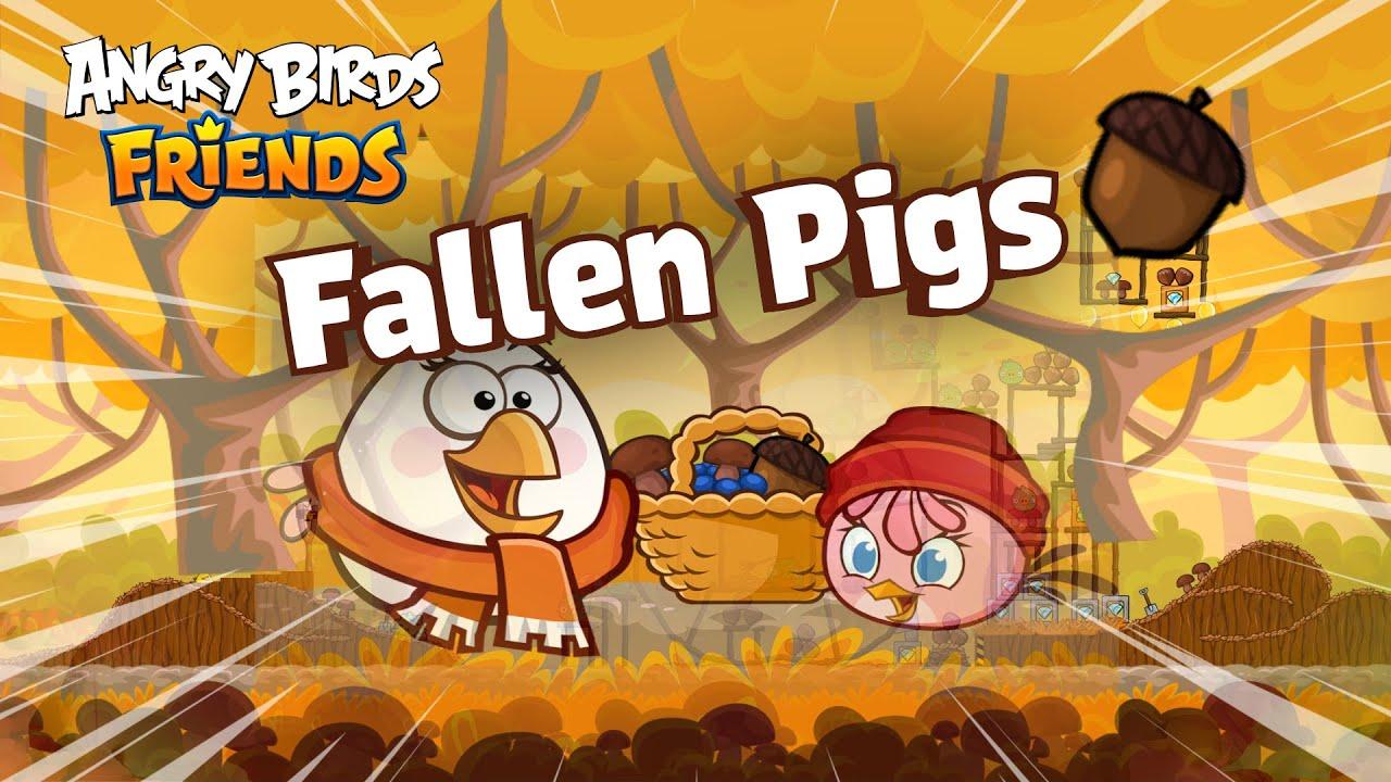Angry Birds Friends   Fallen Pigs Tournament Teaser!