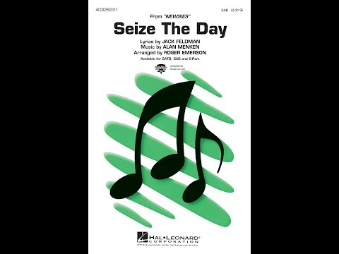 Seize the Day (SAB) - Arranged by Roger Emerson