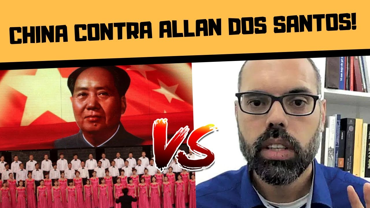CHINA E COREIA DO NORTE CONTRA ALLAN DOS SANTOS?!!!