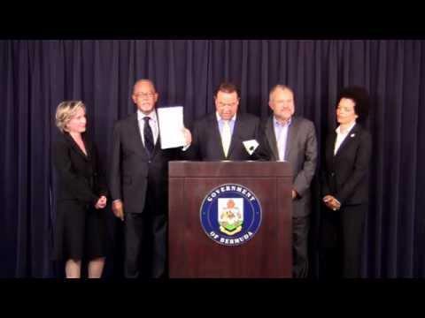 Tourism Minister Wayne Furbert Bermuda December 1 2011