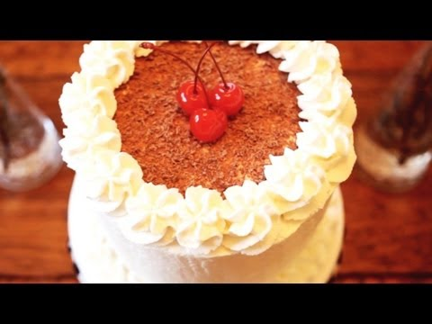How to Make Black Forest Chocolate Gateau - Mini Baker Episode 5