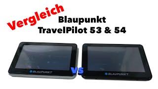 Vergleich TP53 und TP54 - Navigationszwillinge von Blaupunkt