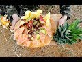 How Do Wild Men Make Fruit Salad? - Mexico Street Food