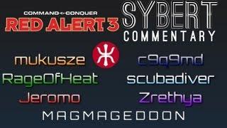 6 player empire ffa magmageddon red alert 3