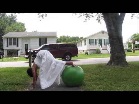 Wedding Dress Exercise Pikes with Pushups