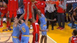 Brandon Ingram Saves The Game / Lakers vs Wizards / Week 2 / 2017 NBA Season
