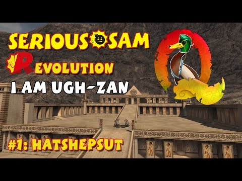 Serious Sam Classics: Revolution FE Walkthrough #1: Hatshepsut (Commentary)