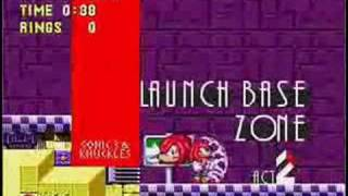 Sonic 3 & Knuckles Music: Launch Base Zone, Act 2 (Sega PC)