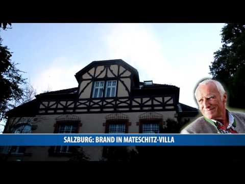 Großer Schaden bei Brand in Mateschitz-Villa