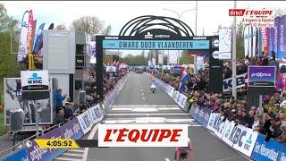 Le dernier kilomètre en vidéo - Cyclisme - A Travers la Flandre