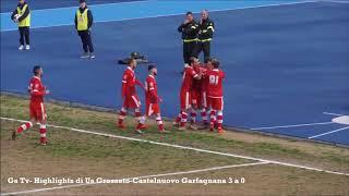 Eccellenza Girone A Grosseto-Castelnuovo G. 3-0 GS TV