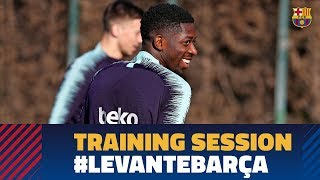 Recovery workout after the match against Tottenham