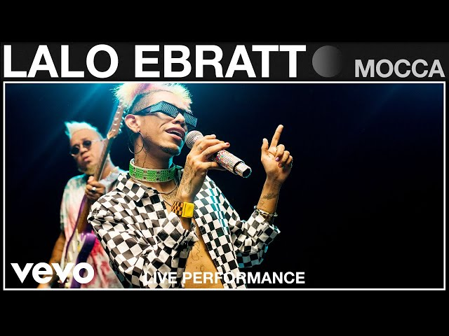 Lalo Ebratt - Mocca (Live Performance   Vevo)