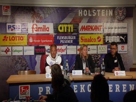 Pressekonferenz KSV Holstein - 1. FC Nürnberg