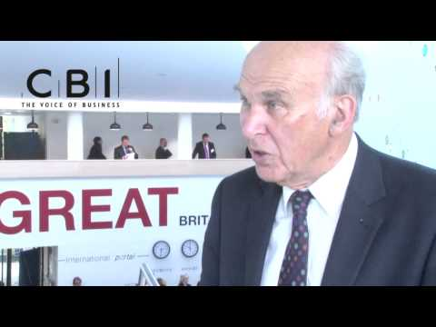 Vince Cable on industrial strategy one year on