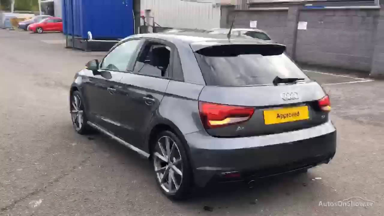 audi a1 sportback tdi s line black edition grey 2016 youtube. Black Bedroom Furniture Sets. Home Design Ideas