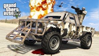 GTA 5 GUN RUNNING DLC - NEW EXTREME MILITARY PICKUP TRUCK!! (GTA 5 Online DLC Update)