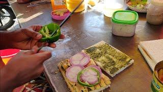 BAHUBALI SANDWICH || BAAP OF ALL SANDWICHES || @ Rs. 400/- ||बाहुबली सैंडविच || सैंडविचों का बाप