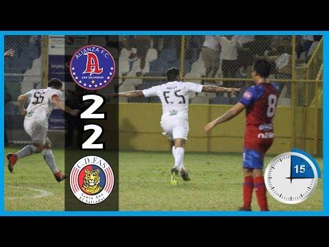Alianza FC Vs. CD FAS 2-2 : Últimos 15 Minutos [Semifinales/ES Apertura 2018]
